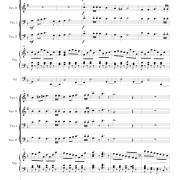 """Festival Prelude on MENDELSSOHN for Organ and Brass Quartet"" page four"