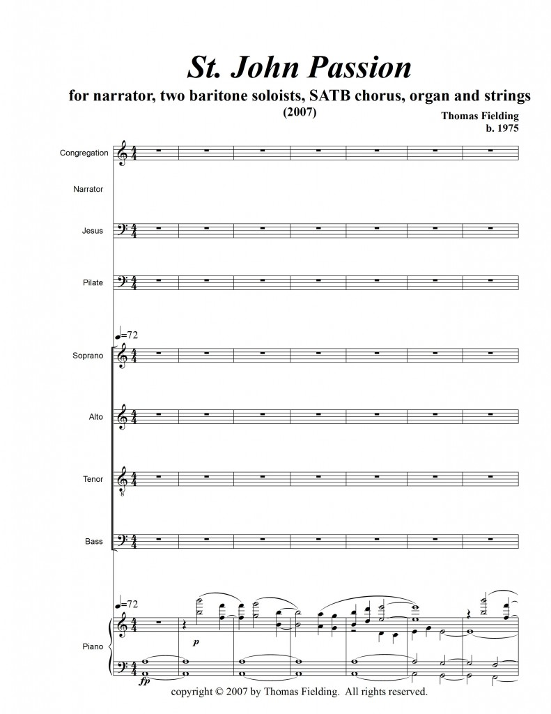 JohnPassionVOCAL page one