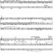 Christus Vincit: Toccata for Organ page four