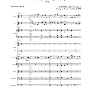 Infant Holy, Infant Lowly page one