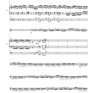 Sinfonia Concertante ORGAN page four