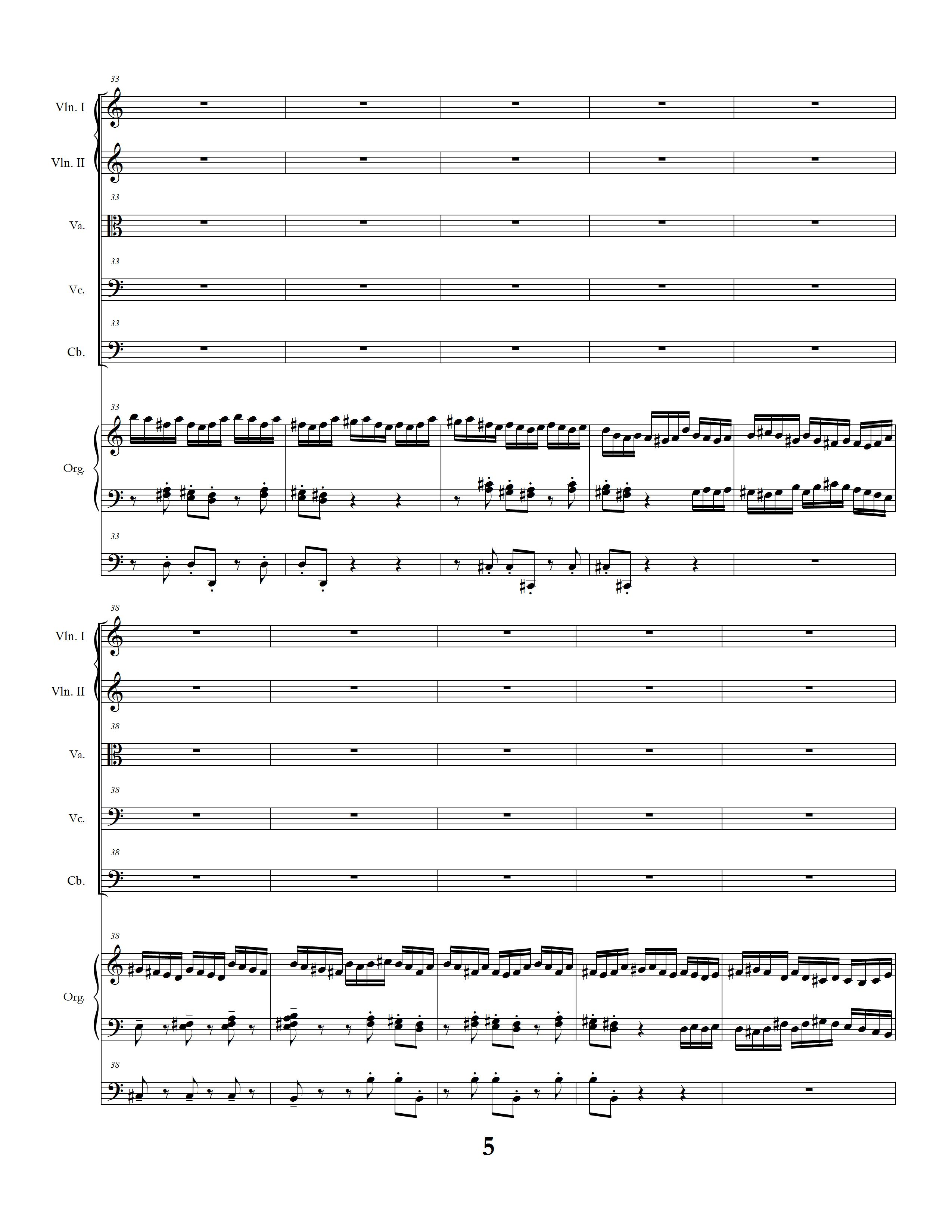Sinfonia Concertante page five