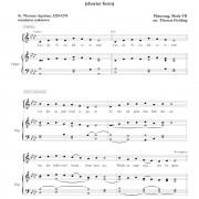 Lauda Sion Salvatorem page one